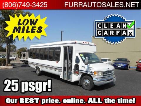 2001 Ford E-Series Chassis for sale at FURR AUTO SALES in Lubbock TX