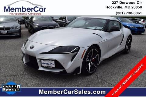 2021 Toyota GR Supra for sale at MemberCar in Rockville MD