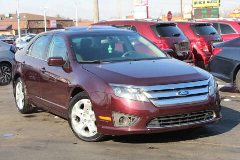 2011 Ford Fusion for sale at Dynamics Auto Sale in Highland IN