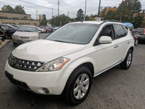2007 Nissan Murano for sale at Richland Motors in Cleveland OH