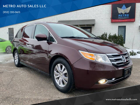 2014 Honda Odyssey for sale at METRO AUTO SALES LLC in Blaine MN