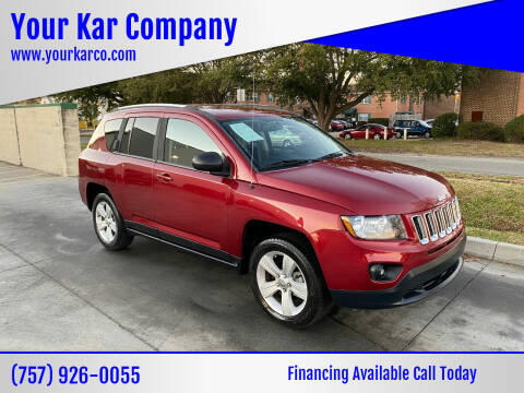 2016 Jeep Compass for sale at Your Kar Company in Norfolk VA