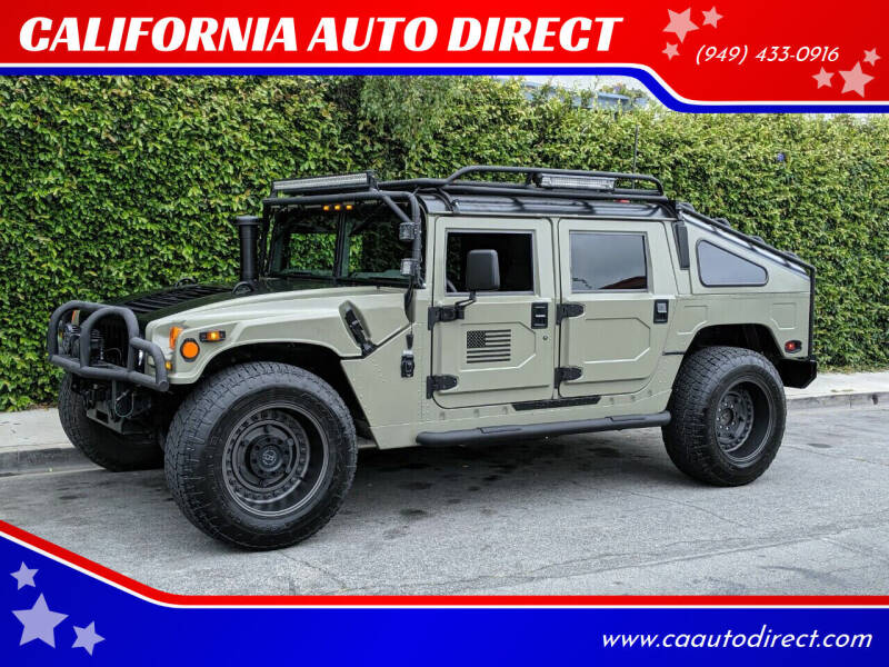1998 AM General Hummer for sale at CALIFORNIA AUTO DIRECT in Costa Mesa CA