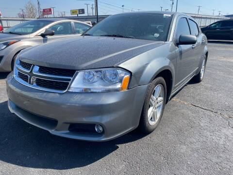 2013 Dodge Avenger for sale at Auto Solutions in Warr Acres OK