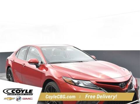2021 Toyota Camry for sale at COYLE GM - COYLE NISSAN - New Inventory in Clarksville IN