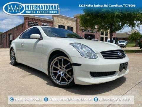 2006 Infiniti G35 for sale at International Motor Productions in Carrollton TX