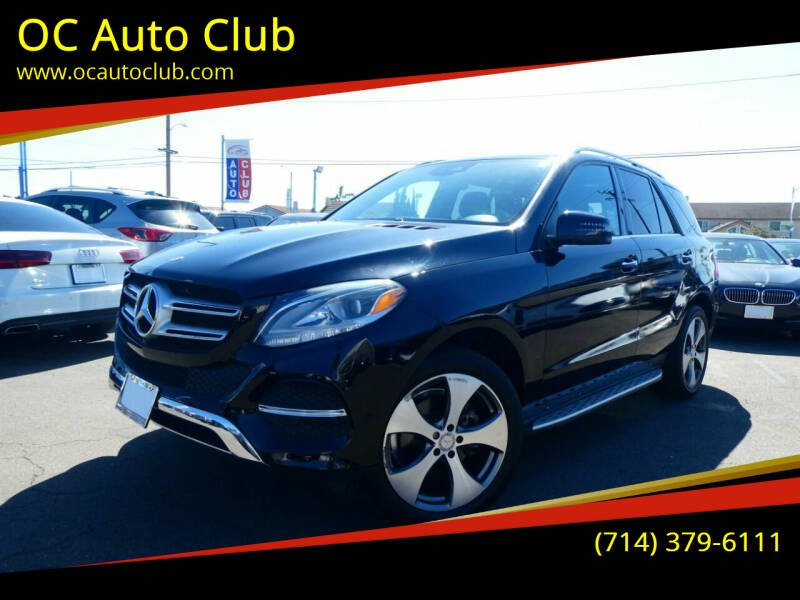 2016 Mercedes-Benz GLE for sale in Midway City, CA