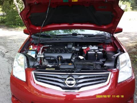 2011 Nissan Sentra for sale at Jack Mansur's Auto LLC in Pelham NH