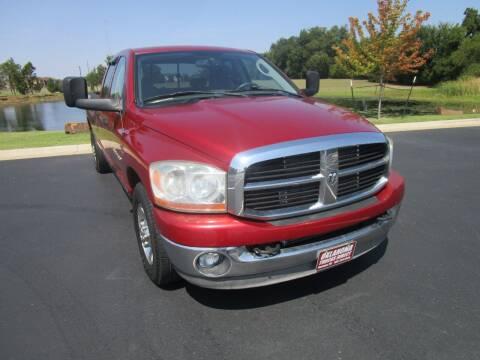 2006 Dodge Ram Pickup 2500 for sale at Oklahoma Trucks Direct in Norman OK