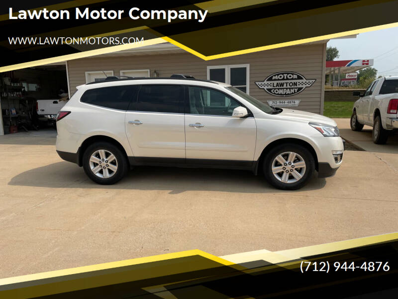 2013 Chevrolet Traverse for sale at Lawton Motor Company in Lawton IA