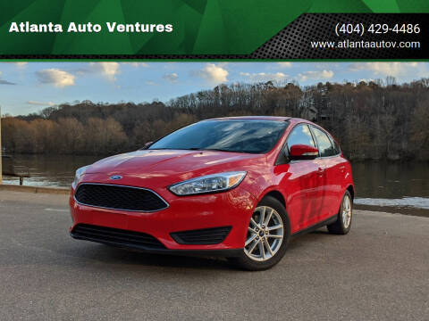 2017 Ford Focus for sale at Atlanta Auto Ventures in Roswell GA