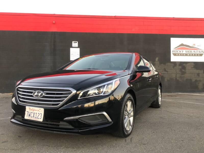 2016 Hyundai Sonata for sale at Najem Auto Sale in Sacramento CA
