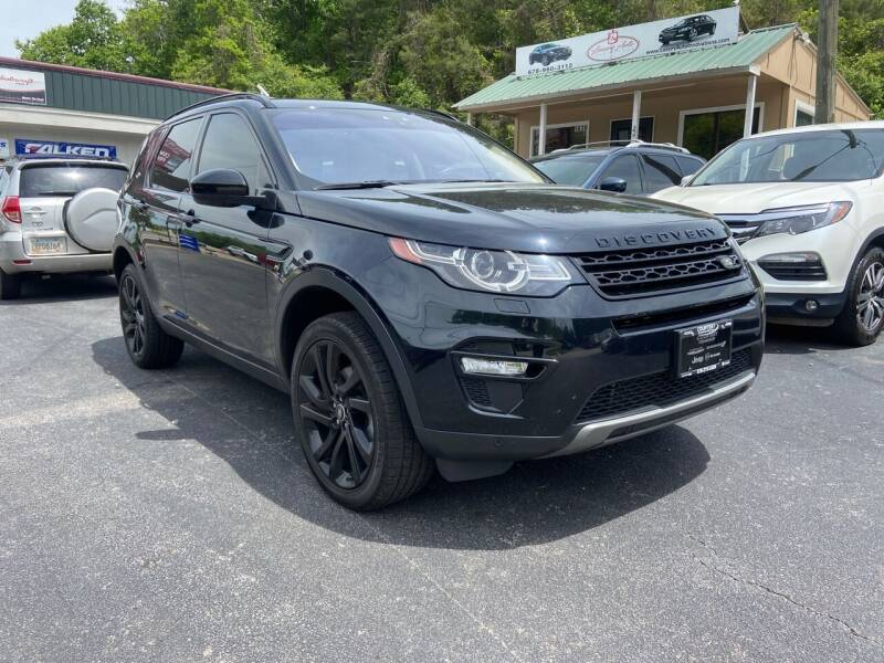 2017 Land Rover Discovery Sport for sale at Luxury Auto Innovations in Flowery Branch GA
