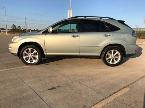 2009 Lexus RX 350 for sale at ALL AMERICAN FINANCE AND AUTO in Houston TX