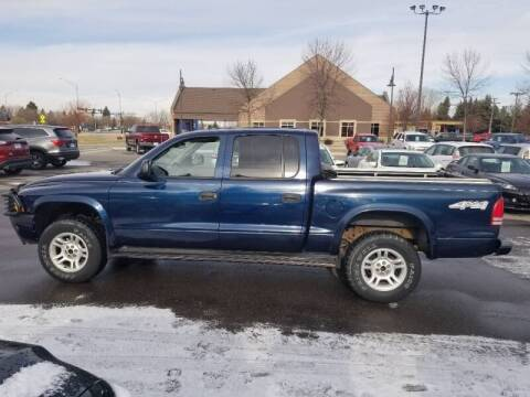 2003 Dodge Dakota for sale at ROSSTEN AUTO SALES in Grand Forks ND
