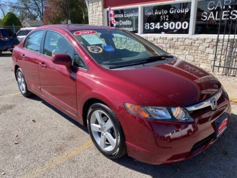 2007 Honda Civic for sale at GOL Auto Group in Austin TX