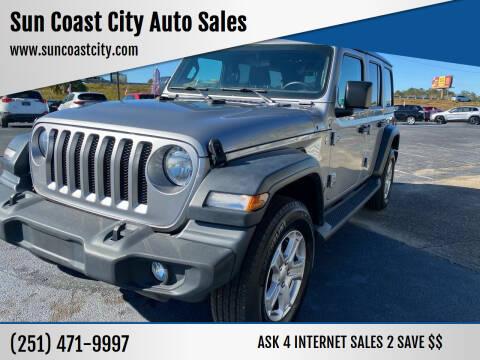 2019 Jeep Wrangler Unlimited for sale at Sun Coast City Auto Sales in Mobile AL