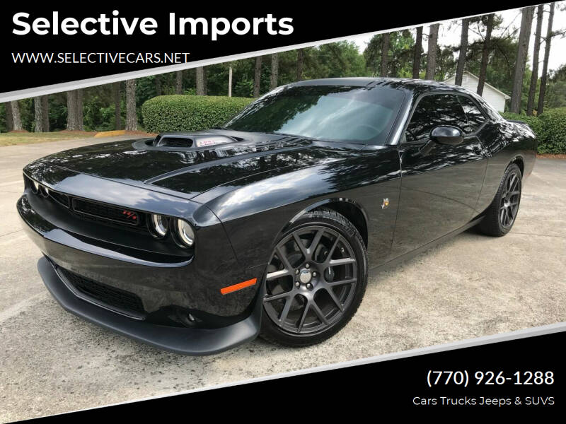 2016 Dodge Challenger for sale at Selective Imports in Woodstock GA