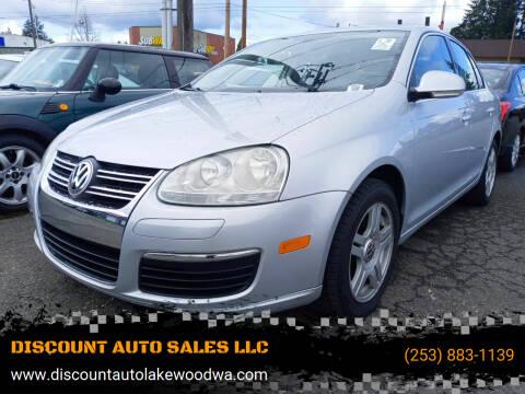 2005 Volkswagen Jetta for sale at DISCOUNT AUTO SALES LLC in Lakewood WA