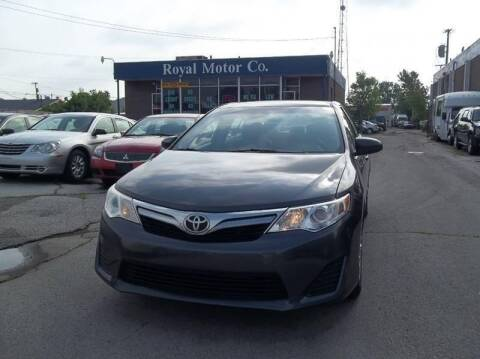 2012 Toyota Camry for sale at Royal Motors - 33 S. Byrne Rd Lot in Toledo OH