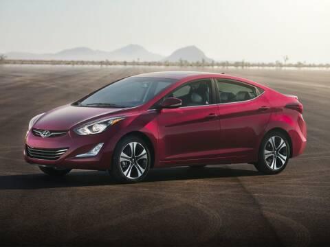 2015 Hyundai Elantra for sale at CHEVROLET OF SMITHTOWN in Saint James NY