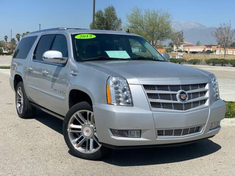 2013 Cadillac Escalade ESV for sale at Esquivel Auto Depot in Rialto CA