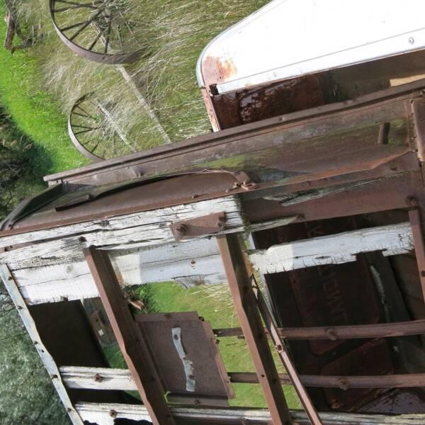 1920 1920's Ford pickup box for sale at MOPAR Farm - MT to Un-Restored in Stevensville MT