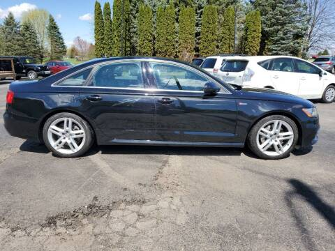 2015 Audi A6 for sale at Drive Motor Sales in Ionia MI