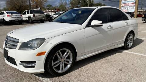 2013 Mercedes-Benz C-Class for sale at T.S. IMPORTS INC in Houston TX