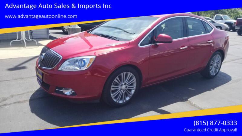 2012 Buick Verano for sale at Advantage Auto Sales & Imports Inc in Loves Park IL