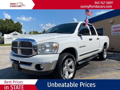 2007 Dodge Ram Pickup 1500 for sale at Sunny Florida Cars in Bradenton FL
