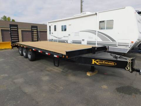 2017 Kaufman CAR TRAILER for sale at Will Deal Auto & Rv Sales in Great Falls MT