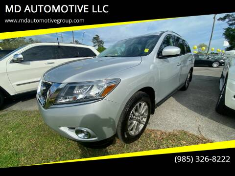 2015 Nissan Pathfinder for sale at MD AUTOMOTIVE LLC in Slidell LA