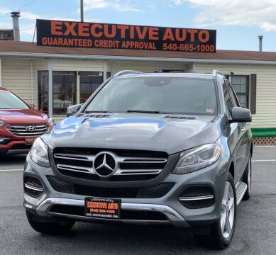 2017 Mercedes-Benz GLE for sale at Executive Auto in Winchester VA