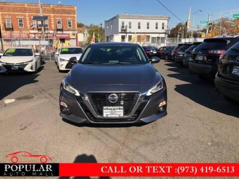 2019 Nissan Altima for sale at Popular Auto Mall Inc in Newark NJ