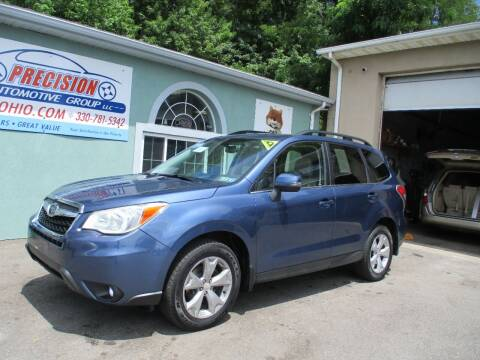 2014 Subaru Forester for sale at Precision Automotive Group in Youngstown OH