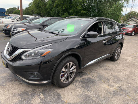 2018 Nissan Murano for sale at PAPERLAND MOTORS - Fresh Inventory in Green Bay WI