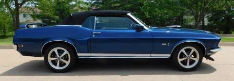 1969 Ford Mustang for sale at WEST PORT AUTO CENTER INC in Fenton MO