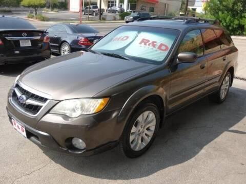 2009 Subaru Outback for sale at R & D Motors in Austin TX
