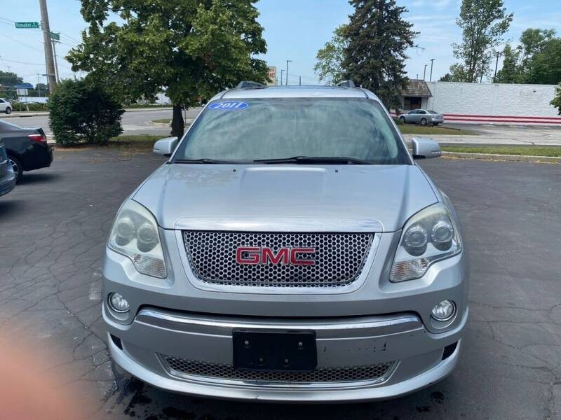 2011 GMC Acadia for sale at Motornation Auto Sales in Toledo OH