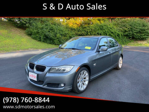 2011 BMW 3 Series for sale at S & D Auto Sales in Maynard MA