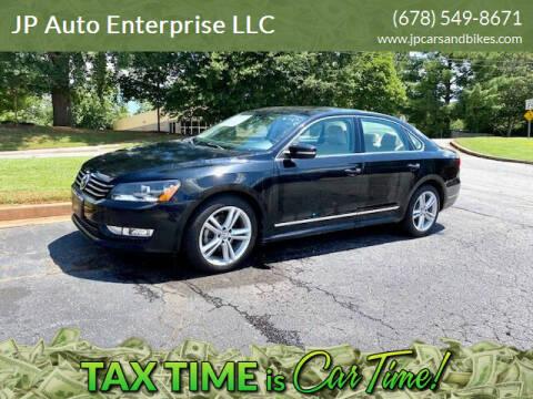 2013 Volkswagen Passat for sale at JP Auto Enterprise LLC in Duluth GA