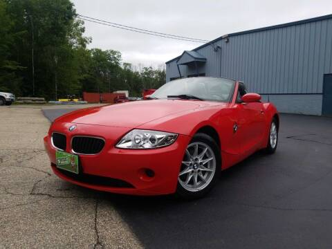 2003 BMW Z4 for sale at Granite Auto Sales in Spofford NH