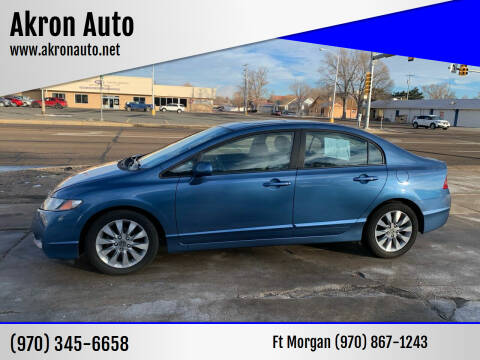 2011 Honda Civic for sale at Akron Auto - Fort Morgan in Fort Morgan CO