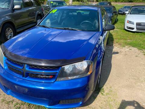 2014 Dodge Avenger for sale at Richard C Peck Auto Sales in Wellsville NY
