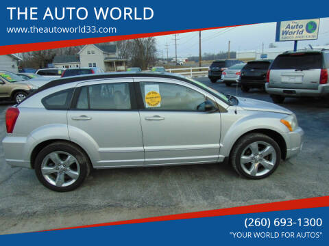 2010 Dodge Caliber for sale at THE AUTO WORLD in Churubusco IN