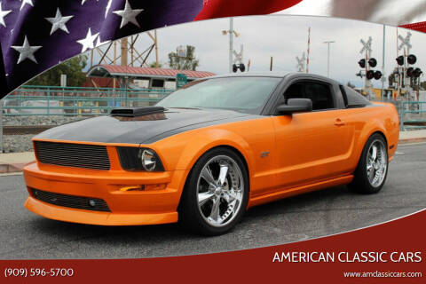 2006 Ford Mustang for sale at American Classic Cars in La Verne CA