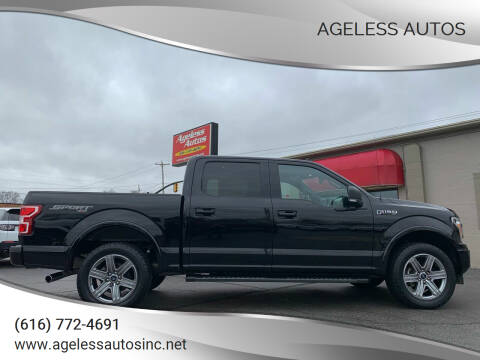 2018 Ford F-150 for sale at Ageless Autos in Zeeland MI