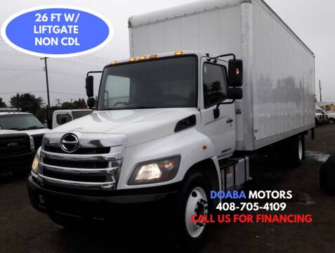 2016 Hino 268A for sale at DOABA Motors - Box Truck in San Jose CA