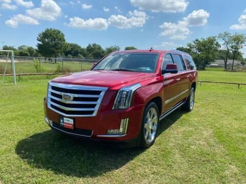 2015 Cadillac Escalade ESV for sale at LA PULGA DE AUTOS in Dallas TX